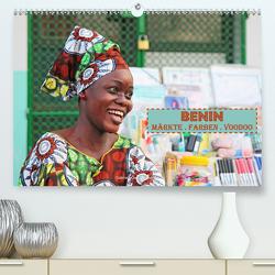 Benin Märkte Farben Voodoo (Premium, hochwertiger DIN A2 Wandkalender 2020, Kunstdruck in Hochglanz) von Gerner-Haudum,  Gabriele