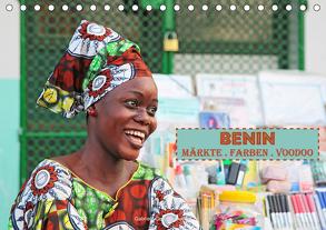 Benin Märkte Farben Voodoo (Tischkalender 2020 DIN A5 quer) von Gerner-Haudum,  Gabriele