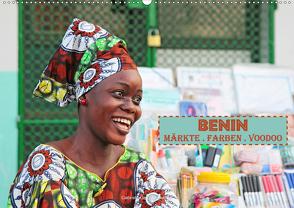Benin Märkte Farben Voodoo (Wandkalender 2020 DIN A2 quer) von Gerner-Haudum,  Gabriele
