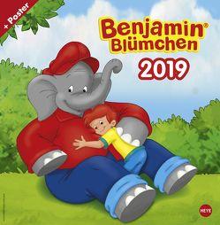 Benjamin Blümchen Broschurkalender – Kalender 2019 von Heye