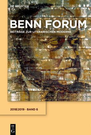 Benn Forum / 2018/2019 von Gottfried-Benn-Gesellschaft, Hof,  Holger, Kraft,  Stephan