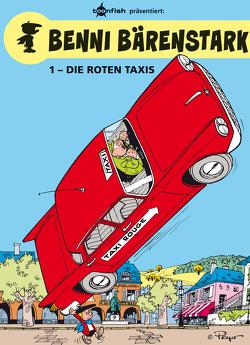 Benni Bärenstark Bd. 1: Die roten Taxis von Peyo, Will