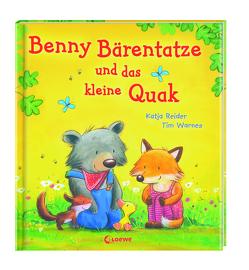 Benny Bärentatze und das kleine Quak von Reider,  Katja, Warnes,  Tim