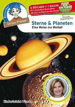 Benny Blu – Sterne & Planeten von Grothues,  Angelika, Kinderleicht Wissen Verlag, Wirth,  Doris