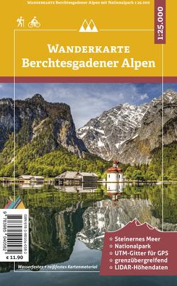 Berchtesgadener Alpen – Wanderkarte 1:25.000 von Plenk,  Anton