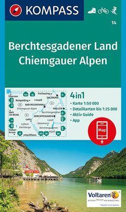 Berchtesgadener Land, Chiemgauer Alpen von KOMPASS-Karten GmbH