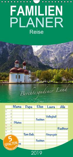 Berchtesgadener Land – Familienplaner hoch (Wandkalender 2019 , 21 cm x 45 cm, hoch) von Wigger,  Dominik