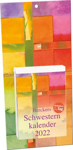 Berckers Schwesternkalender 2022 von Dicks,  Eva