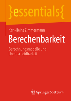 Berechenbarkeit von Zimmermann,  Karl-Heinz