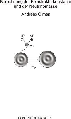 Berechnung der Feinstrukturkonstante und der Neutrinomasse von Gimsa,  Andreas