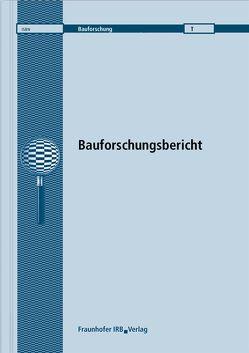 Berechnung der Prognoseunsicherheit nach DIN 4109. von Scholl,  Werner, Wittstock,  Volker