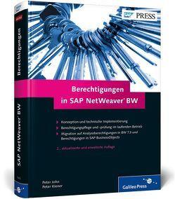Berechtigungen in SAP NetWeaver BW von John,  Peter, Kiener,  Peter