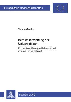 Bereichsbewertung der Universalbank von Merkle,  Thomas