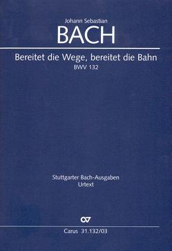 Bereitet die Wege, bereitet die Bahn (Klavierauszug) von Bach,  Johann Sebastian