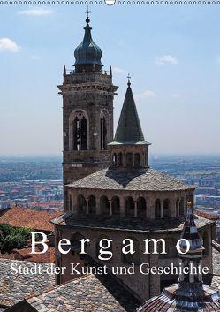 Bergamo (Wandkalender 2018 DIN A2 hoch) von J. Richtsteig,  Walter