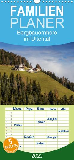 Bergbauernhöfe im Ultental – Familienplaner hoch (Wandkalender 2020 , 21 cm x 45 cm, hoch) von Pöder,  Gert