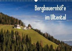 Bergbauernhöfe im Ultental (Wandkalender 2018 DIN A3 quer) von Pöder,  Gert