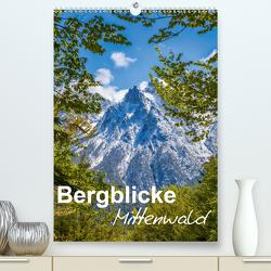 Bergblicke – Mittenwald (Premium, hochwertiger DIN A2 Wandkalender 2020, Kunstdruck in Hochglanz) von Roman Roessler,  Fabian