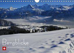 Bergblicke – swissmountainview.ch (Wandkalender 2019 DIN A4 quer) von swissmountainview.ch