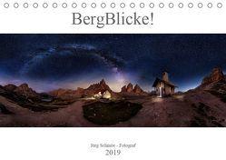 BergBlicke! (Tischkalender 2019 DIN A5 quer) von Schmöe,  Jörg