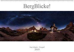 BergBlicke! (Wandkalender 2019 DIN A2 quer) von Schmöe,  Jörg