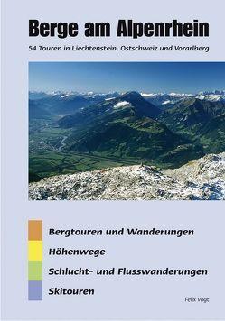 Berge am Alpenrhein von Vogt,  Felix