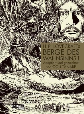 Berge des Wahnsinns 1: H.P. Lovecrafts Berge des Wahnsinns 1 von Ossa,  Jens, Tanabe,  Gou