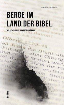 Berge im Land der Bibel von Fleckenstein,  Karl-Heinz