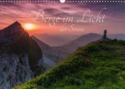 Berge im Licht der Sonne (Wandkalender 2019 DIN A3 quer) von Bergpixel Major,  Maik