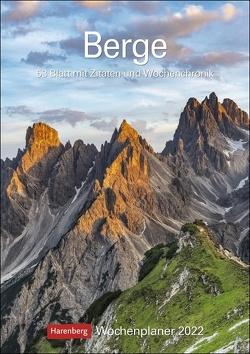 Berge Kalender 2022 von Harenberg