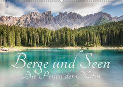 Berge und Seen – Die Perlen der Natur (Wandkalender 2019 DIN A2 quer) von Major,  Maik