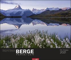 Berge versetzen Kalender 2021 von Brauner,  Jack, Messner,  Reinhold, Weingarten