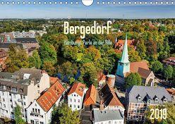 Bergedorf Hamburgs Perle an der Bille (Wandkalender 2019 DIN A4 quer) von Ohde,  Christian