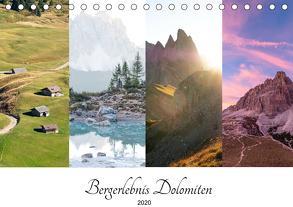Bergerlebnis Dolomiten (Tischkalender 2020 DIN A5 quer) von Fink,  Christina