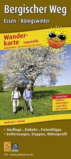 Bergischer Weg, Essen – Königswinter