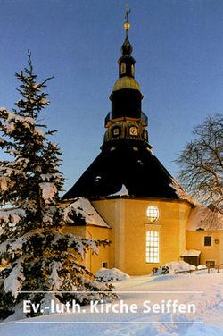 Bergkirche Seiffen von Bechter,  Barbara