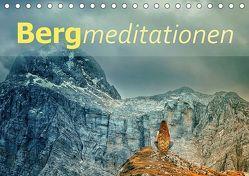 Bergmeditationen (Tischkalender 2019 DIN A5 quer) von Brunner-Klaus,  Liselotte