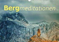 Bergmeditationen (Wandkalender 2021 DIN A3 quer) von Brunner-Klaus,  Liselotte