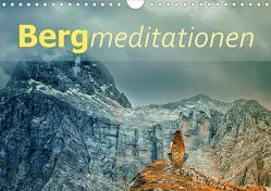 Bergmeditationen (Wandkalender 2021 DIN A4 quer) von Brunner-Klaus,  Liselotte