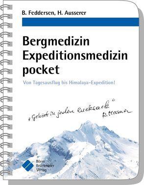 Bergmedizin Expeditionsmedizin pocket von Ausserer,  Harald, Feddersen,  Berend, Ruß,  Andreas