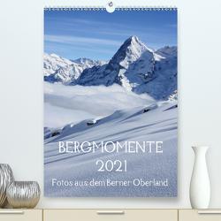 Bergmomente (Premium, hochwertiger DIN A2 Wandkalender 2021, Kunstdruck in Hochglanz) von Schnittert,  Bettina