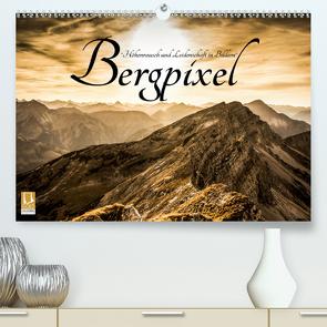 """Bergpixel """"Höhenrausch und Leidenschaft"""" (Premium, hochwertiger DIN A2 Wandkalender 2021, Kunstdruck in Hochglanz) von Major,  Maik"""