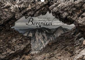 """Bergpixel """"kreuz und quer durch die Alpen"""" (Wandkalender 2018 DIN A3 quer) von Major,  Maik"""