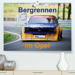 Bergrennen im Opel (Premium, hochwertiger DIN A2 Wandkalender 2021, Kunstdruck in Hochglanz) von von Sannowitz,  Andreas