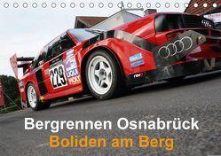 Bergrennen Osnabrück – Boliden am Berg (Tischkalender 2018 DIN A5 quer) von von Sannowitz,  Andreas