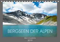 Bergseen der Alpen (Tischkalender 2019 DIN A5 quer) von Miriam Schwarzfischer,  Fotografin
