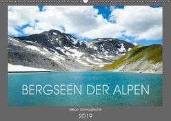 Bergseen der Alpen (Wandkalender 2019 DIN A2 quer) von Miriam Schwarzfischer,  Fotografin