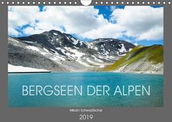 Bergseen der Alpen (Wandkalender 2019 DIN A4 quer) von Miriam Schwarzfischer,  Fotografin