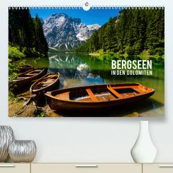Bergseen in den Dolomiten (Premium, hochwertiger DIN A2 Wandkalender 2020, Kunstdruck in Hochglanz) von Gospodarek,  Mikolaj