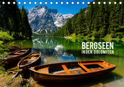 Bergseen in den Dolomiten (Tischkalender 2019 DIN A5 quer) von Gospodarek,  Mikolaj